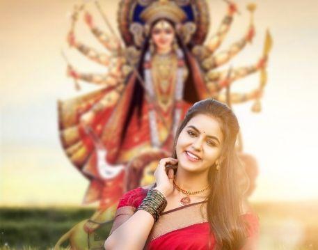 Durga Puja Editing Background